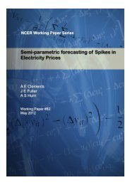 Semi-parametric forecasting of Spikes in Electricity Prices