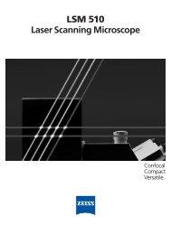 LSM 510 Laser Scanning Microscope - AOMF