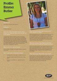 View profile PDF (96k) Emma Butler - Iep