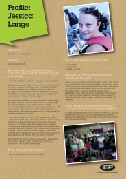 View profile PDF (96k) Jessica Lange - IEP