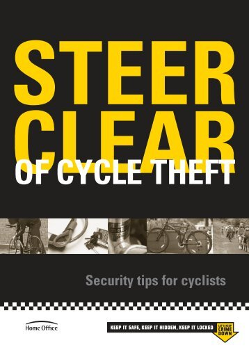 Steer Clear of Cycle Theft