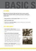 Steer Clear of Cycle Theft - Page 4