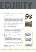 Steer Clear of Cycle Theft - Page 5