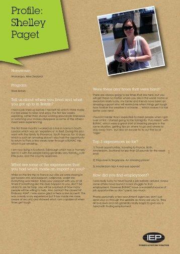 View profile PDF - Iep