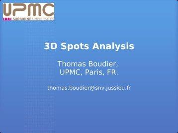 3D Spots Analysis