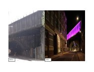 Energy Efficient Lighting Bermondsey Street Tunnel