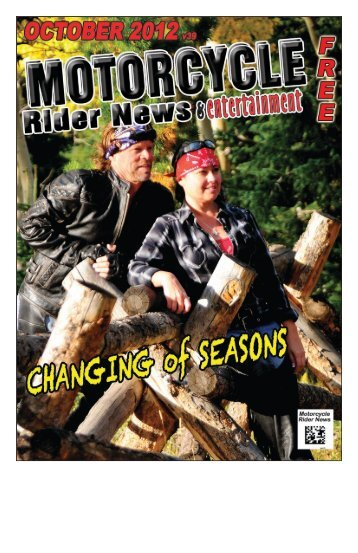 October 2012 - Motorcycle Rider News