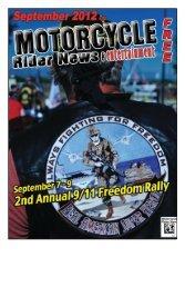 September 2012 - Motorcycle Rider News