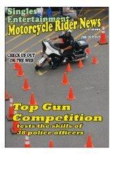 July 09 - Motorcycle Rider News