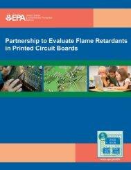 Partnership to Evaluate Flame Retardants in Printed Circuit Boards ...