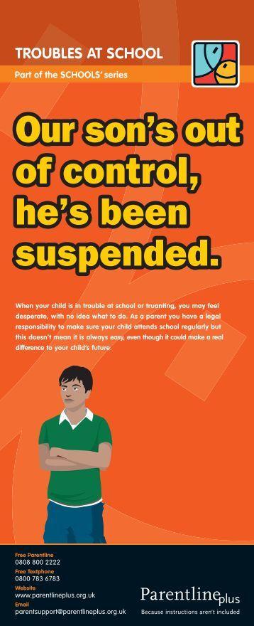 Troubles at school - Cornwall Healthy Schools