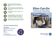 Did you know? Ellon Can-Do