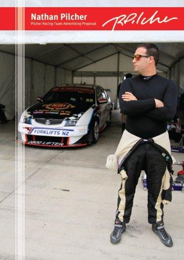 Pilcher Racing test