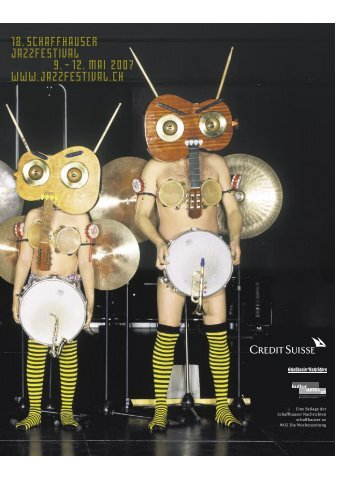 18. schaffhauser Jazzfestival 9. - 24. Schaffhauser Jazzfestival