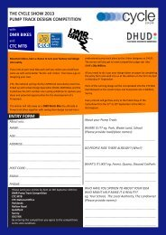 Download the entry form. - Developing Mountain Biking in Scotland