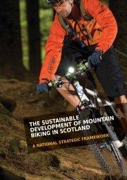 the sustainable development of mountain biking in scotland