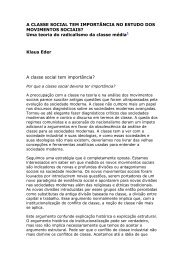 A classe social tem importância no estudo dos ... - Empreende.org.br