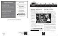 Horizons, Spring 2005 Download - Sacramento Valley Conservancy