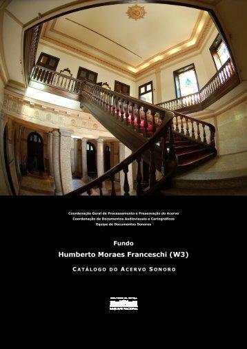 Humberto Moraes Franceschi - Arquivo Nacional
