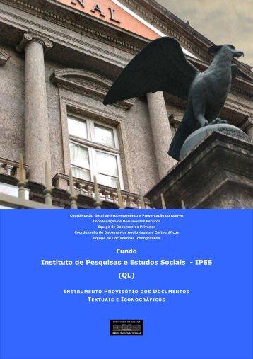 Ipês em edição - Arquivo Nacional