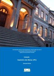 Coleção Casimiro de Abreu - Arquivo Nacional
