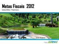 Metas Fiscais 2012