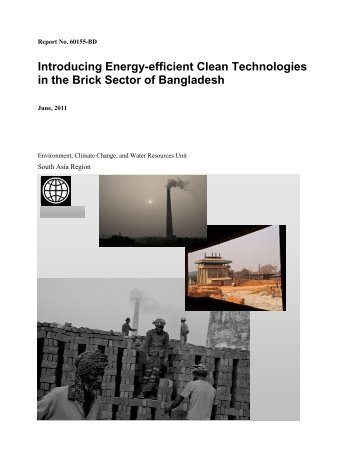 Introducing Energy-efficient Clean Technologies in the Brick ... - CASE