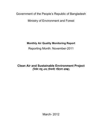 November-2011 Clean Air - CASE