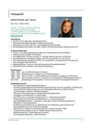 Ausführliches Profil - szesny.net
