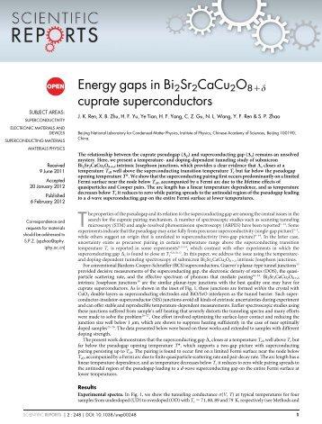 Energy gaps in Bi2Sr2CaCu2O81d cuprate superconductors