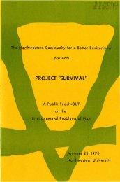 Event Program - Northwestern University Library
