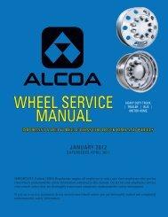 WHEEL SERVICE MANUAL - Alcoa