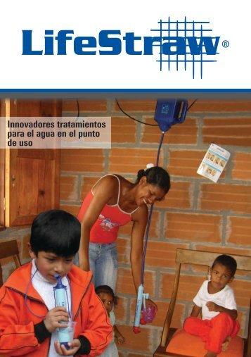 Innovadores tratamientos para el agua en el punto de uso