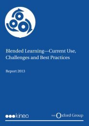 Blended Learning—Current Use, Challenges and Best ... - Kineo