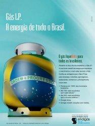 Gás LP. A energia de todo o Brasil. - Sindigás