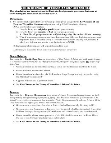 treaty of versailles worksheet free worksheets library download and print worksheets free on. Black Bedroom Furniture Sets. Home Design Ideas