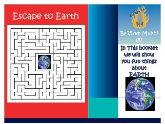 Booklet about Earth for kids Final