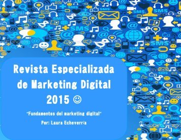 Revista Especializada de Marketing Digital 2015 �
