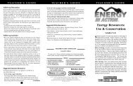 Energy Resources: Use & Conservation - Distribution Access