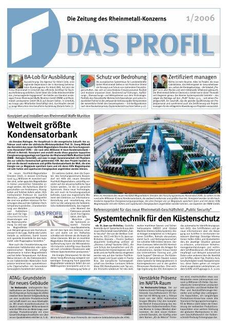 """""""Rüstzeug"""" für das Projektgeschäft - Kolbenschmidt Pierburg AG"""