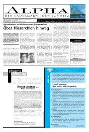 Ärztebesucher w/m - Tagesanzeiger e-paper