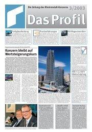 Konzern bleibt auf Wertsteigerungskurs - Kolbenschmidt Pierburg AG