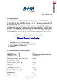 ad 1) Preiserhöhungen ab 1. September 2008 - Baustoff Metall
