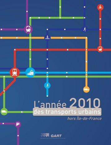 L'année 2010 des transports urbains - Participation de la CUB et de ...