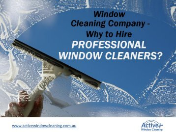 Commercial and Residential Window Cleaning – Tips to Choose!