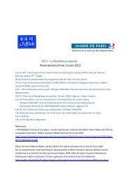2013 : La République apaisée Présentations/Visite 14 juin 2012 - Gart