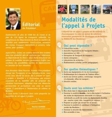 appel à projets.pdf - Gart