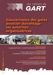 Gouvernance des gares - Ville, Rail & Transports
