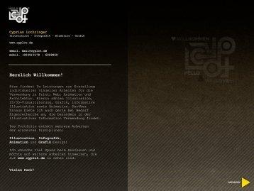 portfolio (pdf) - Cyprian Lothringer