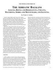 the adriatic balkans albania, bosnia and herzegovina, croatia ...